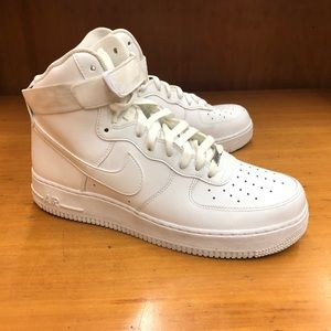Nike Air Force 1 men's high sneakers 10
